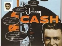 Johnny Cash with his hot and blue guitar – Johnny Cash