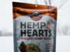A package of shelled hemp seeds or hemp hearts from Manitoba Harvest.